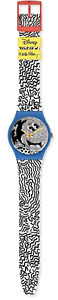 Swatch Disney Keith Haring Eclectic Mickey Watch Limited Edition New with Box