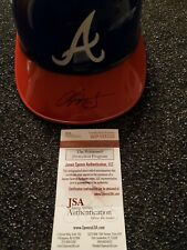 Chipper Jones Autographed Atlanta Braves Replica Helmet (JSA Certified)