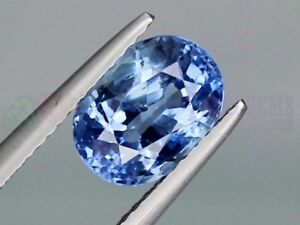 Beautiful Ceylon Blue Sapphire Oval 9x7mm 2.66ct Loose Natural Gemstone SriLanka