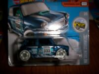 MORRIS MINI BLU- HOT WHEELS - SCALA 1/55