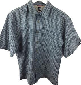 Authentic The North Face Lightweight Short Sleeve Shirt Medium (Large)