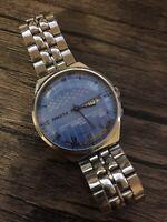 Raketa College Watch Perpetual Calendar Soviet Mens Vintage Wristwatch