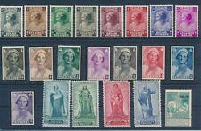 Belgium (1911-47) B200-207 & B170-B177 Mh Compl Sets; B437-440 & B23 Mh Cv $35+
