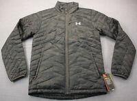 Under Armour Reactor Storm Men Black Camo Lightweight Full Zip Jacket NWT S $200