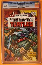 How to Draw TEENAGE MUTANT NINJA TURTLES #1 Solson 1986 Eastman Laird CGC NM 9.4