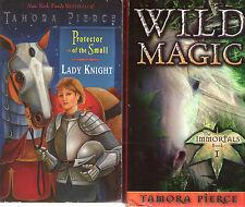 Complete Set Series - Lot of 17 Tortall Universe books by Tamora Pierce Fantasy