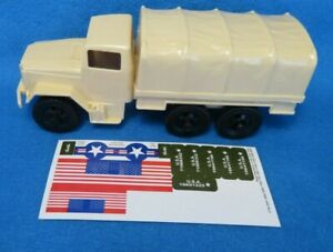 Tim Mee U.S. 2 1/2 Ton M34 Cargo Truck, for Toy Soldiers (54MM) TAN