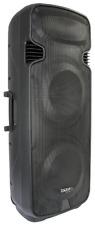 """Ibiza PORT238VHF-BT Mobile Impianto Sonorizzazione 15 """" Cassa Microfono Akku MP3"""