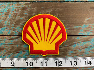 NEW SHELL OIL RACING PATCH  FUEL SCCA NASCAR NHRA F1 JOEY LOGANO FORD FERRARI
