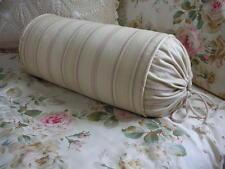 NEW Custom Ralph Lauren Woodstock Garden Stripe Neckroll Pillow Neck Roll