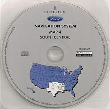 03 04 05 06 Ford Expedition Escape Hybrid Navigation Map #4 Cover TX OK AR LA MS