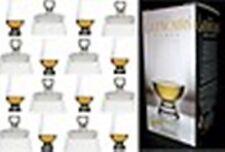 (8) GLENCAIRN WHISKEY GLASSES W / EIGHT GINGER JAR TOPS