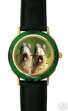 Montre avec le  Chien BRIARD  -  Watch with BRIARD DOG