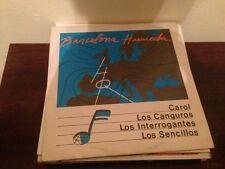 """V/A BARCELONA HUMEDA 12"""" LP INDIE POWER POP ROCKABILLY - CAROL SENCILLOS"""
