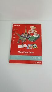 Canon new Matte Photo Paper  A4 50 Sheets