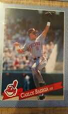 1993 Hostess Carlos Baerga #15, Cleveland Indians Card