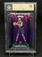 John Collins 2017-18 Purple Fast Break Prizm 43/75 RC Rookie BGS 10 PRISTINE