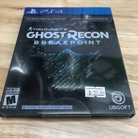 Tom Clancy's Ghost Recon Breakpoint Ultimate Steelbook PlayStation 4 PS4 New