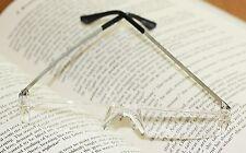 Reading Glasses Frameless Six Pair Pack Strength +4.00 pk/6 (6 prs readers 4.00)