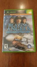Blazing Angels: Squadrons of WWII (Microsoft Xbox, 2006) MINT COMPLETE! MAIL TOM