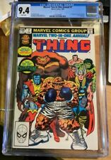 Marvel Two-in-One Annual #7 (CGC 9.4) White pages; 1st app. Champion