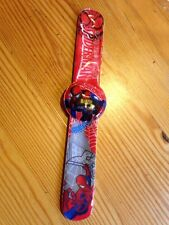 Spider Man Kids Digital Wrist Watch Slap Strap Girls Gift Idea Spiderman Easy