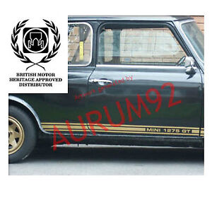 MINI 1275 GT STRIPES DECAL SET - British Motor Heritage Approved