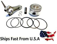 Honda GX160 GX200 piston kit + connecting rod US SELLER