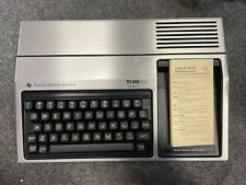 Texas Instruments TI-99/4A Computer Untested