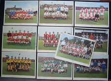 39 CARDS PHOTO EREDIVISIE (12) / 1° DIVISIE A (13) / B (14) 1958-1959 AJAX BLAUW