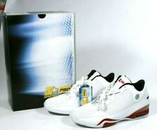 New Vintage Starter Pro Mens Athletic White Leather & Red Collector Sneaker 10.5