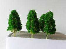 6 x MODEL POPLAR TREES 10 cm SCENERY FOR MODEL RAILWAY OO / HO SCALE NEW B17