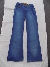 New Mudd Blue Jeans Flare Bell Bottoms Denim Junior 11 32X33 435841
