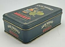 More details for jack daniels collectable miniature bottle tin - container holder storage