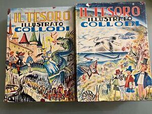 Il tesoro illustrato collodi Pinocchio 1959