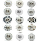 15pc mix and mach ceramic door knob cupboard drawer puller Handle Furniture