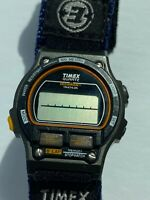 Vintage TIMEX Ironman Triathlon Watch Expedition Band 8 Lap 100 Meters VGC