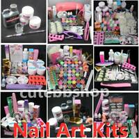 Pro Acrylic Nail Art Tool Kit Set 150ml Acrylic Liquids Acrylic Powder DIY Tools