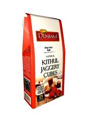 Pure Ceylon Natural Kithul Jaggery Cubes - No added Sugar, Colours, flavours