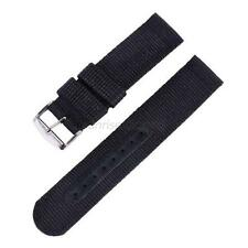 Durable Men Military Army Nylon Fabric Wrist Watch Band Strap Size 18/20/22/24mm