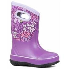Bogs Kids' Boots Classic Northwest Garden, Violet Multi, Size 11 (72446-546-110)
