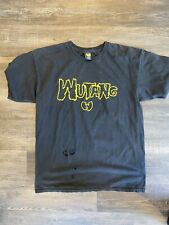 Vintage Wu Tang Limited O.G Black Distressed T Shirt Rare L USA