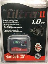 Brand New SanDisk 1GB Ultra II Compact Flash Card (SDCFH-1024-901)