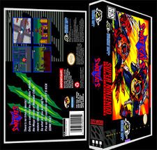 Swat Kats - SNES Reproduction Art Case/Box No Game.