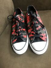Converse AS Red/Black Sneakers #146813F  Unisex M/10, W/12