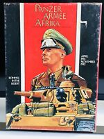 Panzer Armee Afrika (1982) Board Game - Avalon Hill - Punched