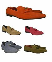 New Men's Casual Loafers Moccasins Slip on Shoes With Tassles Avail UK 6-11