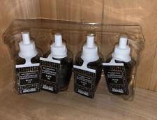 (4) Bath & Body Works BLACK TIE Wallflowers Home Fragrance Refills x4