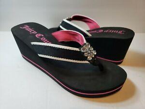 Juicy Couture Women's Platform Wedge Sandals - Size L(9-10)