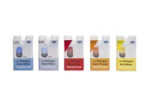 Putco Lighting 217440R Mini Halogen Bulb Mega Red 7440 Pair